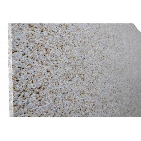 Blat / parapet groszkowany jasny granit grubości 3 cm - na zmówienie
